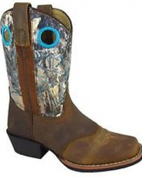 Smoky Mountain® Boots Kids' Sedona Square Toe Camo Boots