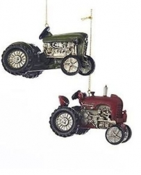 Kurt S. Adler® 2.5 Resin Farm Tractor Ornament