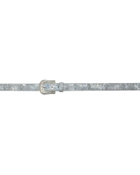 3D Belt Company® Girls' Lite Up Silver Belt