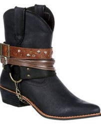 Durango® Ladies' Shorty Boots With Straps