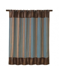 HiEnd Accents® Ruidoso Stripe Shower Curtain