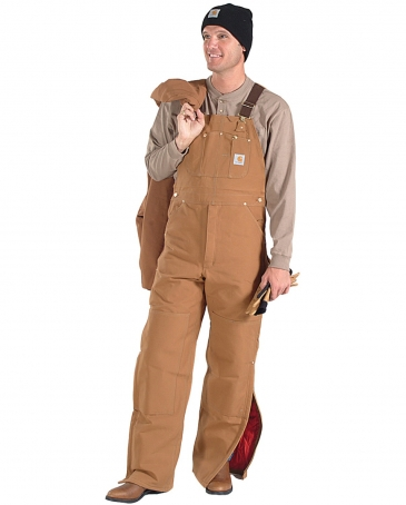 Carhartt® Men's Lined Bib Overall - Big