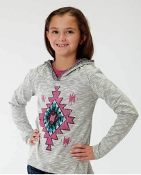 Roper® Girls' Print Hooded Tee