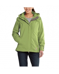 Carhartt® Ladies' Cascade Waterproof Breathable Rain Jacket