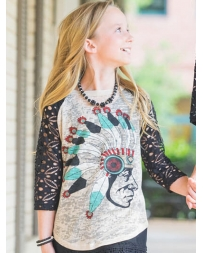 Southern Grace® Kids' Native American Burnout