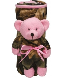 Trailcrest® Girls' Bear N Blanket
