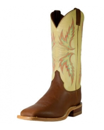 Justin® Boots Men's Square Toe Cream Boots