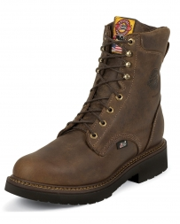 "Justin® Men's 8"" Rugged Safety Toe Work Boots"