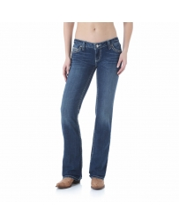 Rock 47 by Wrangler® Ladies' Heavy Emb Boot Cut Jeans