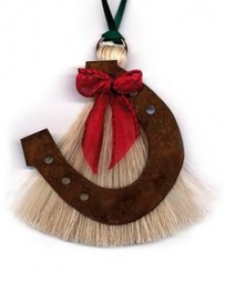 Horse Hair Ornament Horse Shoe