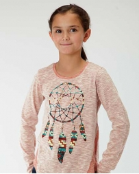 Roper® Girls' LS Dream Catcher Tee