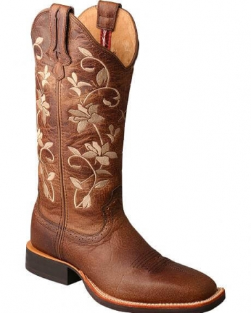 Twisted X Boots® Ladies' Ruff Stock Embro Boots