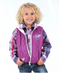Cowgirl Hardware® Girls' Infant Toddler Horse Heart Vest