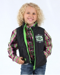 Cowgirl Hardware® Girls' Infant Toddler Turn And Burn Vest