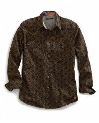 Tin Haul® Men's Mens Long Sleeve Print Shirt