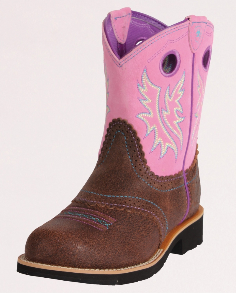 Ariat® Kids' Fatbaby Cowgirl Boots - Child and Youth - Fort Brands