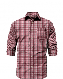 Rose Pistol® Men's Long Sleeve Plaid Shirt