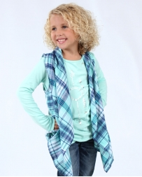 Derek Heart® Girls' Draped Fit Vest