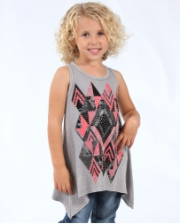 Vocal® Girls' Aztec Tank