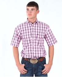 George Strait® Collection by Wrangler® Men's Andre Short Sleeve Shirt