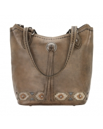 American West® Ladies' Native Sun Zip Top Bucket Tote
