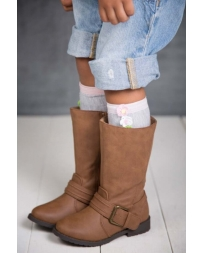 Little Boot Peep Girls' Crochet Boot Topper