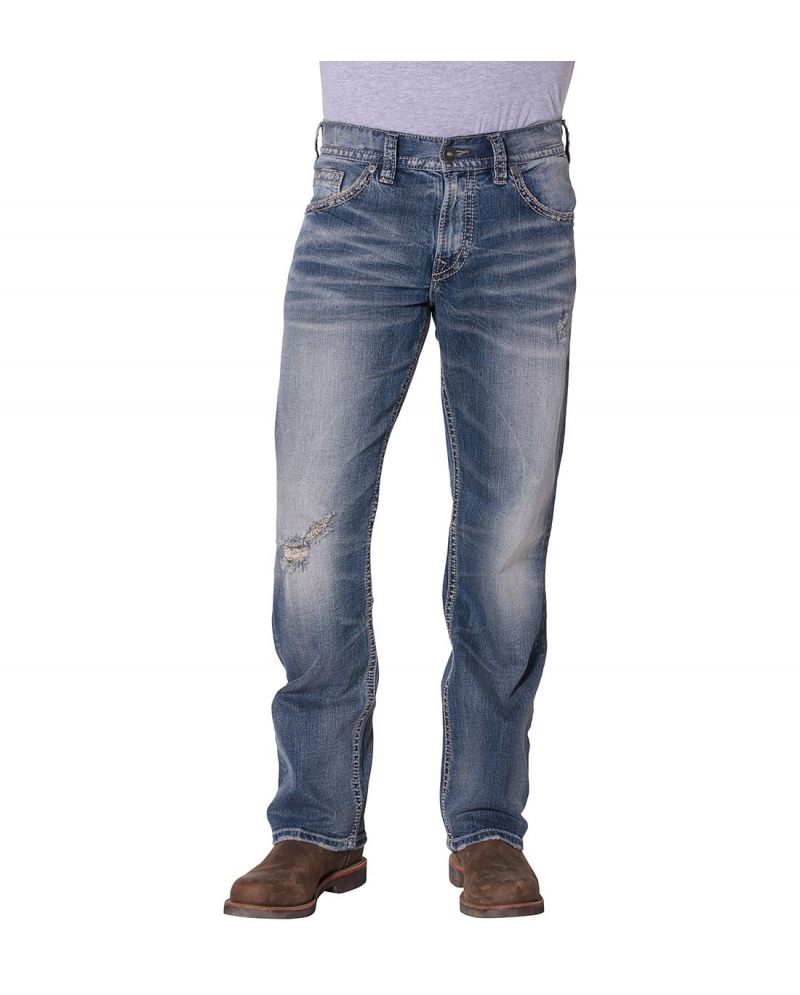 Silver Jeans® Men's Gordie Loose Fit Straight Leg Jeans - Fort Brands