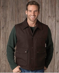 Cripple Creek® Men's Wool Collered Vest