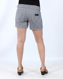 Wrangler® Ladies' Stripe Shorts