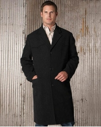 Cripple Creek® Men's Three Button Wool Trench Coat