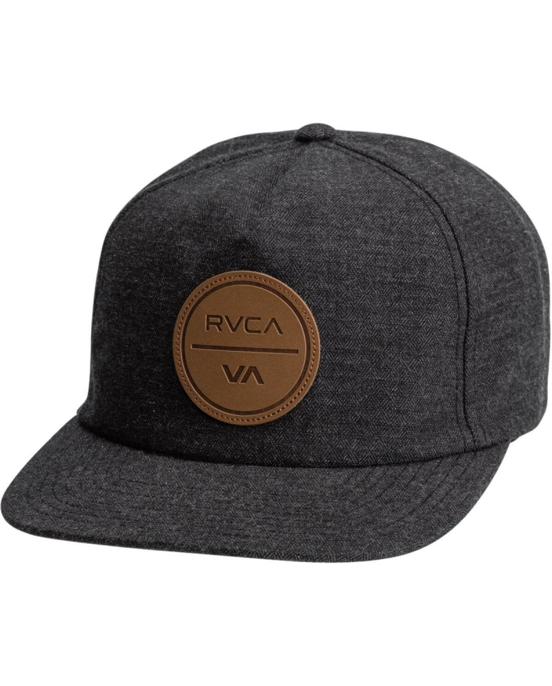 065e4c3a ... low cost rvca mens costal 5 panel cap black a948a ce02d