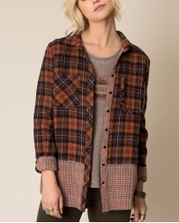 White Crow® Ladies' Against All Odds Plaid Shirt