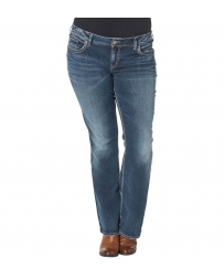 Silver Jeans® Ladies' Suki Mid Rise Boot Cut Jeans