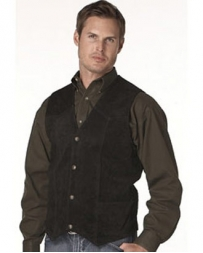 Cripple Creek® Men's Basic Vest With Snap Front