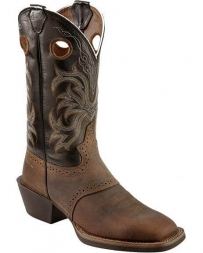 Justin® Boots Men's Tan Distressed Buffalo Boots
