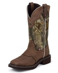 Justin® Boots Ladies' Gypsy Real Tree Camo Boots