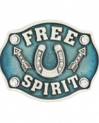 Montana Silversmiths® Girls' Free Spirit Buckle