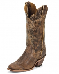 "Justin® Boots Ladies' Bent Rail Tan Road 12"" Boots"