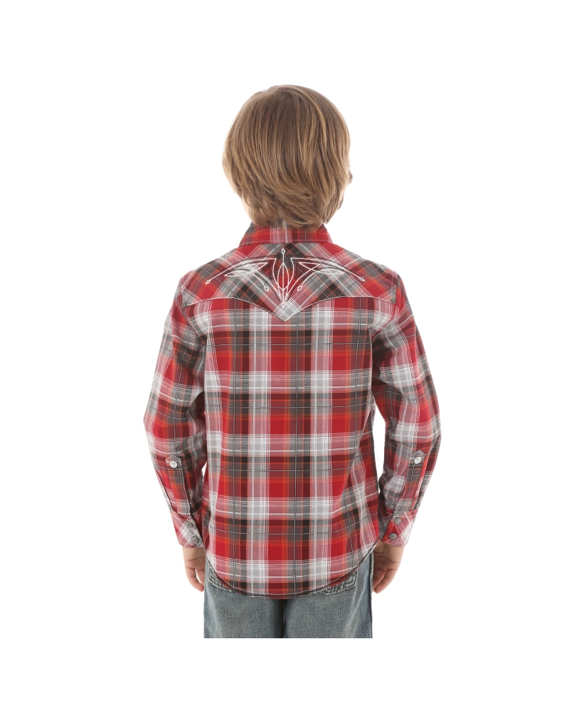 Rock 47 By Wrangler Boys 39 Long Sleeve Plaid Shirt Fort