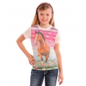 Rock and Roll Cowgirl® Girls' Horse Graphic Tee