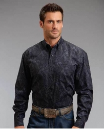 Stetson® Men's LS Button Paisley Print Shirt