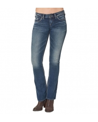 Silver Jeans® Ladies' Aiko Mid Rise Boot Cut Jeans