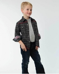 Roper® Boys' LS Snap Regal Print Shirt