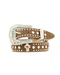 Nocona® Girls' Brown Bling Belt