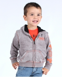 Cowboy Hardware® Boys' Infant/ Toddler Skull Zip Hoodie