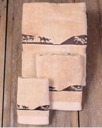 Moss Brothers INC. Running Horse Bath Towels