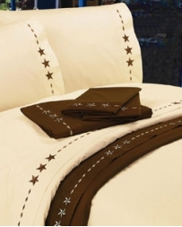 HiEnd Accents® Star Cream Sheet Set- Full