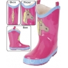 Smoky Mountain® Boots Girls' Pink Pony Rubber Boots