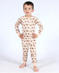 Cowboy Hardware® Boys' Infant /Toddler Cowboy Jammy Set