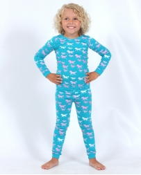 Cowgirl Hardware® Girls' Infant Toddler Pajama Set